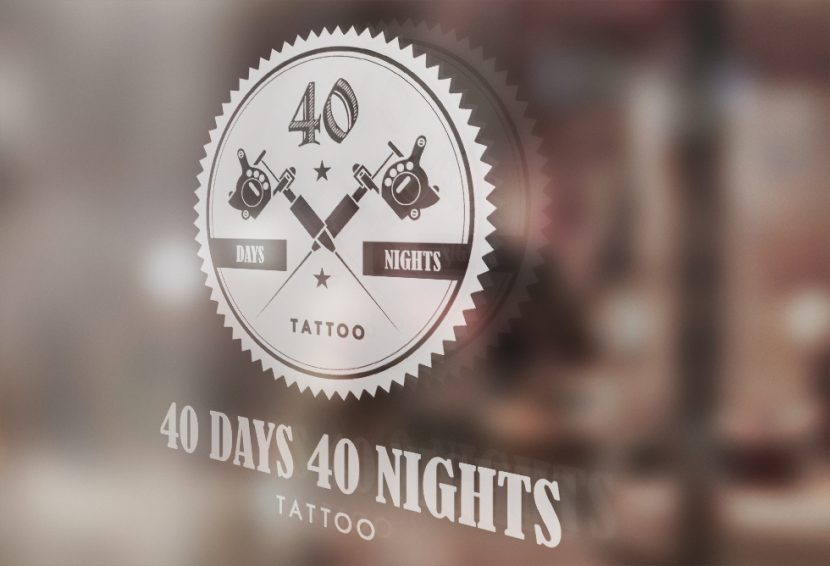 40 Days 40 Nights Tattoo